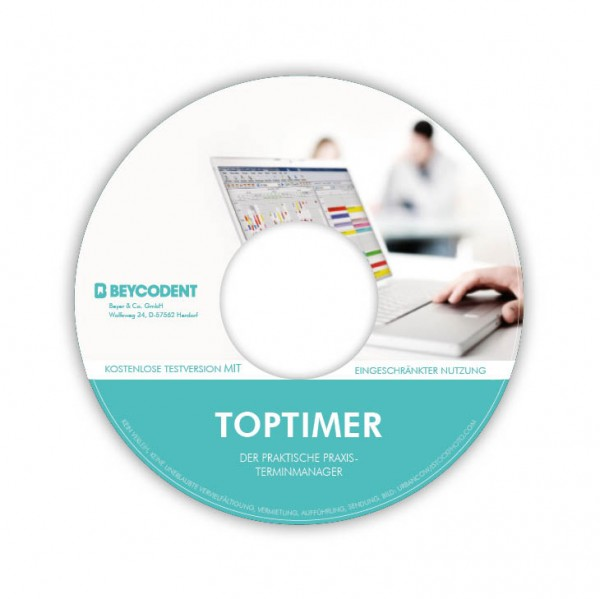 Toptimer Lizenz für 6 Behandlungszimmer