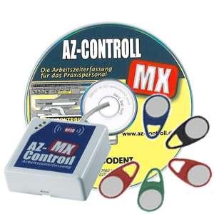 AZ-CONTROLL Komplett-Paket mit Online-Lesegerät